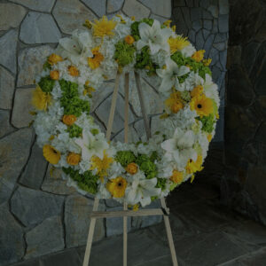 Wreath, Cross 花圈